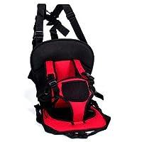 Multi-function car cushion fiber car seat Red