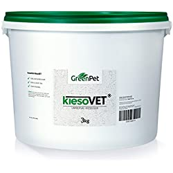 GreenPet KiesoVet® 3 kg reine Kieselgur - Naturprodukt für Tiere