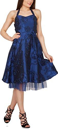 Black Butterfly 'Rita' Floral Cherish Abschlussballkleid (Blau, EUR 44 – XL) - 5
