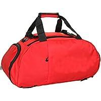441ce6c27fc91 Godlife Leicht Kreative Nylon wasserdicht große Kapazität Sporttasche  Sporttasche Reise Weekender Seesack (rot) für
