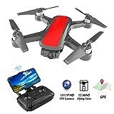 ML Mini Drone Estable de 2 Ejes sin escobillas Motor Quadcopter con Full HD 1080p cámara 5g WiFi FPV para Adultos Principiantes