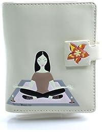 Yoga Sac à main Girl Petit en crème–Fitness–Portefeuille pour femme