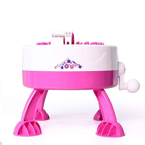 (iStary Kinder Manuelle Automatische Webstuhl Set Stricknadeln DIY Schal Hut Regenbogen Innovative Handgewebte Wolle Weben Maschine Spielzeug Für Baby)