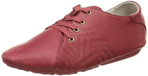 TBS Charlyn, Chaussures Lacées Femme Rouge