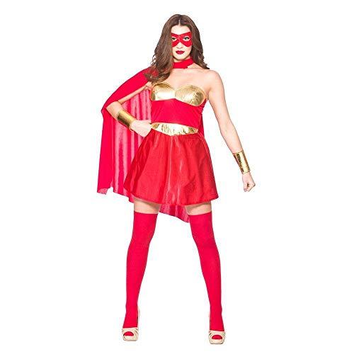 Hot Super Hero - Red / Gold ()