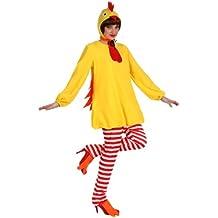 Atosa - Disfraz de pollo infantil, talla M/L (10212)