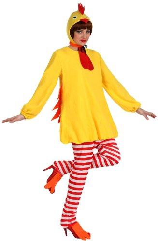Huhn-Kostüm für Frauen M / L