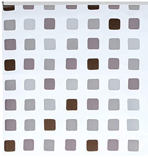 Kleine Wolke Duschrollo für Leerkasette , Grau mit Muster 128 x 240 cm thumbnail