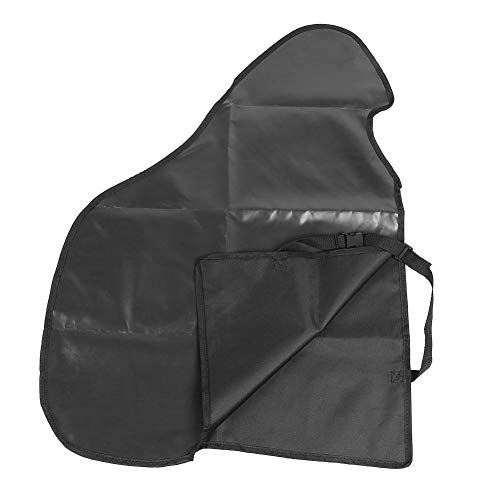 Caravan Hitch Cover, universelle wasserdichte Caravan-Anhängerkupplung Abdeckung PVC-Anhängerkupplung Schloss atmungsaktiv (schwarz) -