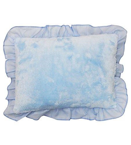 Wonderkids Blue Rectangular Baby Pillow