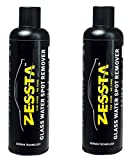 Zessta RCZ112 Glass Water Spot Remover (250ml, Set of 2)