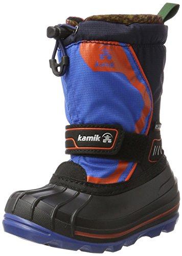 Kamik Unisex-Kinder SNOWCOAST4 Schneestiefel, Blau (Blue Blu), 25 EU