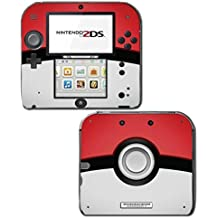 Pokeball Special Edition X and Y Pikachu Video Game Vinyl Decal Skin Sticker Cover for Nintendo 2DS System Console by Vinyl Skin Designs