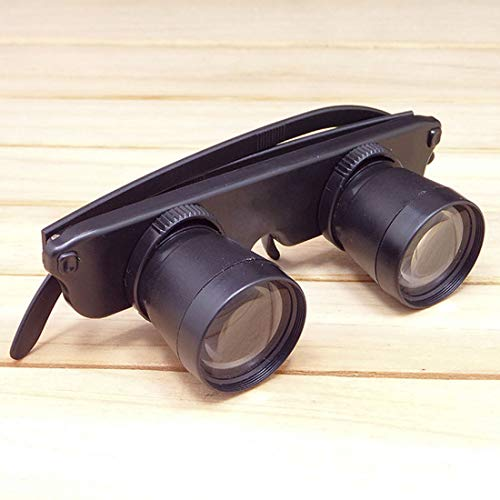 Magnifiers - 3x28 Magnifier Glasses Style Outdoor Fishing Optics Binoculars Telescope Magnifying Glass Big Vision - Rectangle Magnify Vision Telescop Green Cartridge Lamp Military Loupe Ak47 Mag