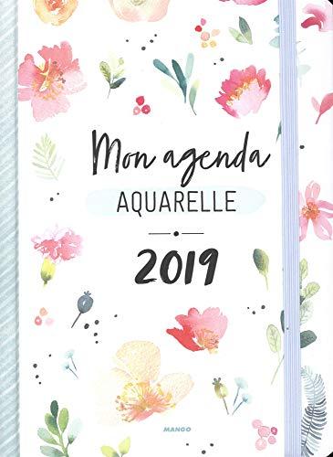 Mon agenda aquarelle 2019