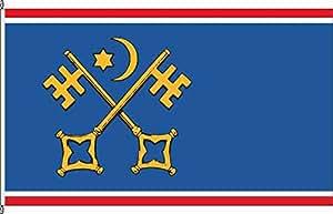 Flagge Fahne Hochformatflagge Sankt Peter-Ording - 120 x 300cm