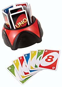 Mattel Games UNO Blast, The Unpredictable Card Blasting Family Game (Electronic Toy)
