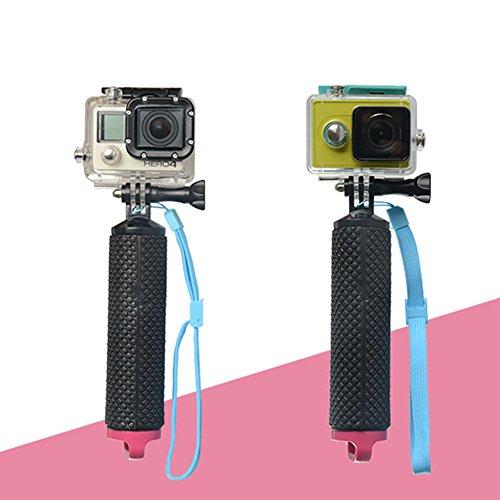 AimeFor galleggiabilità stick sport fotocamera mano stick Diving autoscatto asta galleggiante per GoPro Hero4/3 viola purple