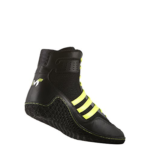 Adidas Ace 16.1 Primeknit Fg / ag Football Crampons (Vert solaire, Shock Pink), 12,0 D (m) Us, Solar Black/Solar Yellow