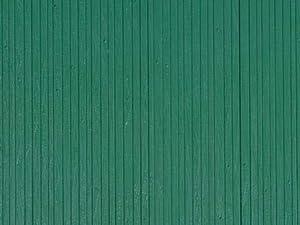 Auhagen 52219.0 - Paneles Decorativos de Pared de Madera contrachapada, 10 x 20 cm Área de Estructura, Verde