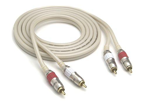 G&BL 5347 Serie HPA Cavo Audio Bipolare, 2.0 m, Bianco Perlato