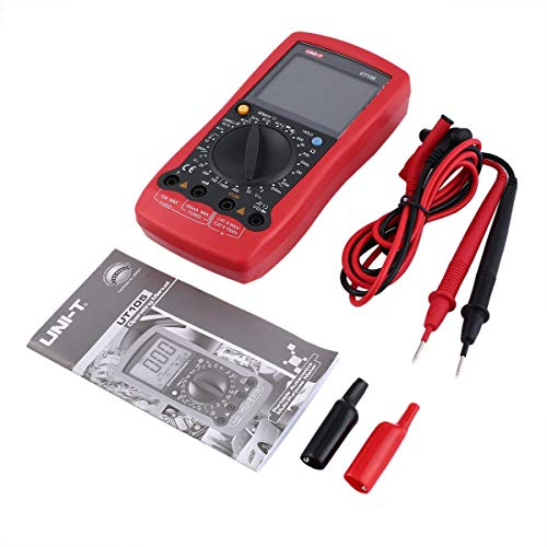 Gugutogo UNI-T UT105 Automotive Handheld Multimeter AC/DC Volt Ohm Diode Current Voltmeter Tester Meters Digital Ammeter Multitester - Solenoid Voltage Tester