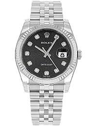 Rolex Datejust 116234 BKJDJ 18K White Gold & Stainless Steel