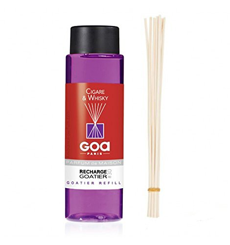 Goa Clem - Cigare & Whisky Recharge pour diffuseur