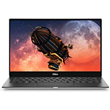 Dell XPS 13 13.3 Inch 4K UHD Thin and Light, InfinityEdge Touchscreen 2019 Laptop (Silver) Intel Core i7-8565U, 16 GB RAM, 512 GB SSD, Windows 10 Home