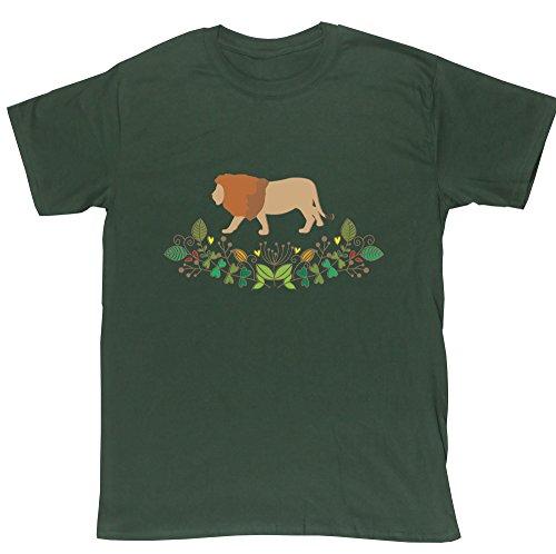hippowarehouse-t-shirt-homme-vert-