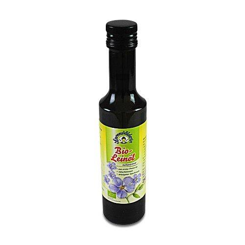BIO Leinöl kaltgepresst 'Spreewälderin' (250 ml)