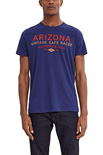 ESPRIT Herren T-Shirt Blau (Grey Blue 420)