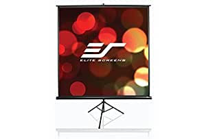 "Elite Screens Tripod 119"" 1:1 écran de projection - écrans de projection (2295 mm, 70 mm, 3185 mm, 9,3 kg, Blanc)"