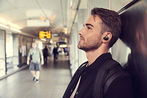 Sony WF1000X - Auriculares inalámbricos (Cancelación de Ruido, Sense Engine, Bluetooth, Compatible con aplicación Headphones Connect) Negro