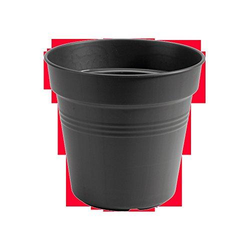 elho green basics anzuchttopf 11cm Blumentopf - lebhaft schwarz