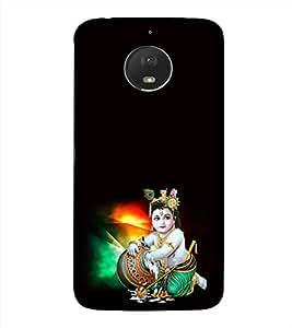 PrintVisa Designer Back Case Cover for Motorola Moto E4 Plus :: Motorola E4 Plus :: Moto E4 Plus :: Motorola Moto E Plus (4th Gen.) (Kanhaiya Mayura Balgopala Anandsagar Dayanidhi)