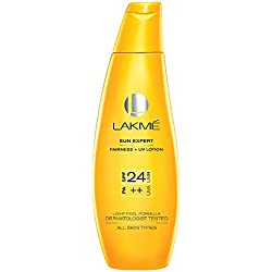 Lakme Sun Expert SPF 24 PA Fairness UV Sunscreen Lotion, 120 ml
