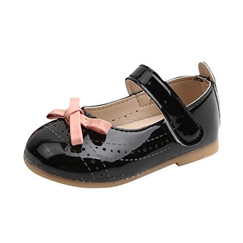 Cuteelf Festliche Kinder Mädchen Ballerinas Schuhe für Partys und Freizeit in vielen Farben Baby mädchen Sandalen Kleinkind Kind Bowknot Party Prinzessin süße Schuhe Sandalen