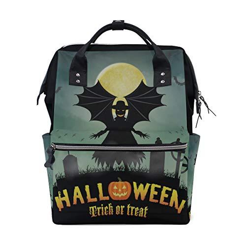 Gravis-laptop-taschen (Happy Halloween Fancy Party Große Kapazität Windel Taschen Mummy Rucksack Multi Funktionen Wickeltasche Tasche Handtasche Für Kinder Babypflege Reise Täglichen Frauen)