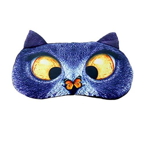 LIWEISDSDFS Augenschutz Cartoon Tier Eisbeutel Schlaf Schattierung Eisbeutel EIS Kühl Atmungsaktiv Augenschutz Lindern Augenermüdung