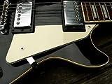Jellyfish Audio piastra,battipenna e supporto,a 3 strati crema zebrati,per chitarre Gibson Les Paul LP