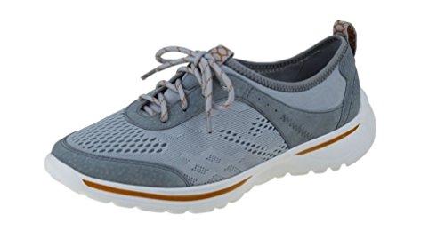Earth Spirit  Yuma, Chaussures de ville à lacets pour femme 37 Gris