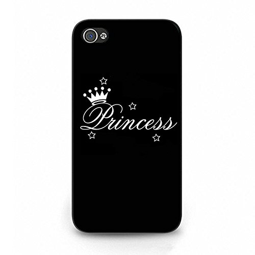 Iphone 4/4s Case,Stylish Solid Princess Phone Case Cover for Iphone 4/4s Best Friends Shell Cover Color117d