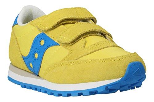 Saucony Unisex-Kinder Jazz Double HL Cross-Trainer gelb (Yellow Cobalt 5) 28 EU