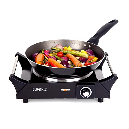 duronic-hp1bk-stainless-steel-single-portable-cooker-table-top-cooktop-hot-plate-boiling-hob-with-ha