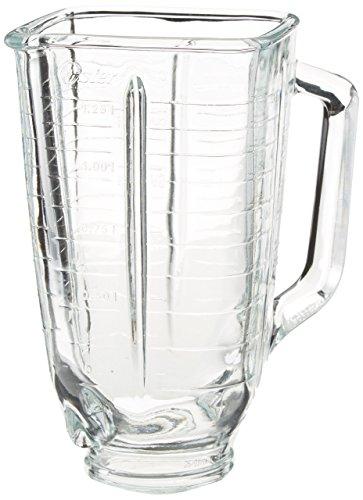 Oster Vakuum-Kaffeemaschine Glas viereckig Top Blender Jar, viereckig oben, transparent - Vakuum Kaffeemaschine Glas