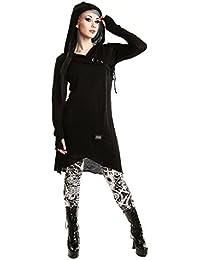 Vixxsin Emerald Cardigan For Ladies Coats Jackets In Black Goth Emo Punk