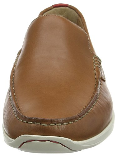 Clarks Karlock Lane, Mocassins homme Marron (Tan Leather)