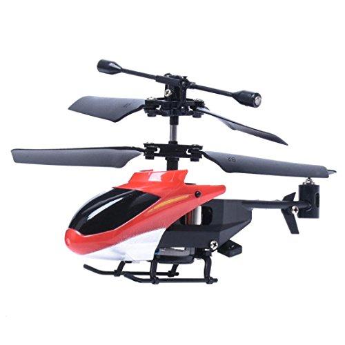 Koly RC 2CH mini rc helicóptero de radio de control remoto aviones micro 2 canales