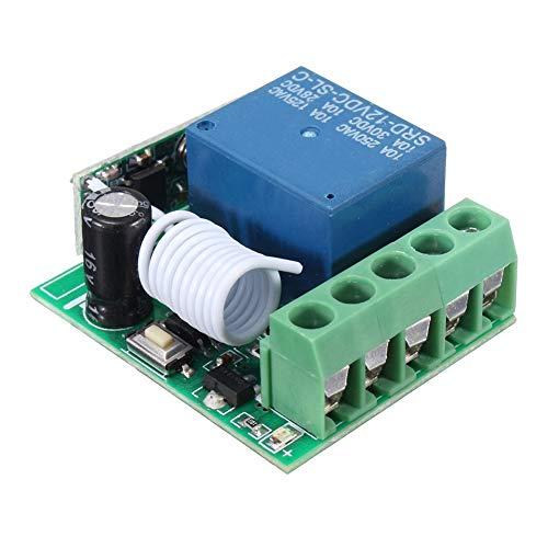 DSstyles 433HZ Funk-Relais-Schalter mit Fernbedienung, Empfänger, DC12 V, DIY-Schaltungen - Schaltung-fernbedienung